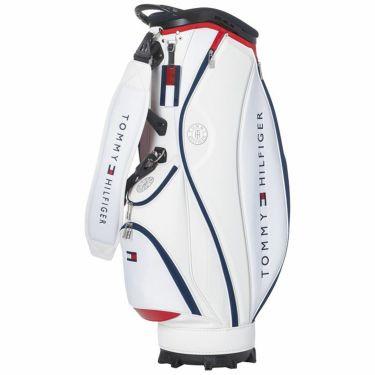 トミー ヒルフィガー ゴルフ キャディバッグ THMG1FC2 00 ホワイト 2021年モデル ホワイト(00)