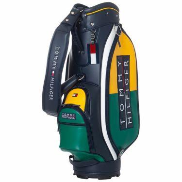 トミー ヒルフィガー ゴルフ カラーブロック ボックスロゴ キャディバッグ THMG1FC3 60 グリーン 2021年モデル グリーン(60)