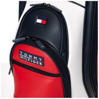 トミー ヒルフィガー ゴルフ カラーブロック ボックスロゴ キャディバッグ THMG1FC3 90 トリコロール 2021年モデル 詳細2