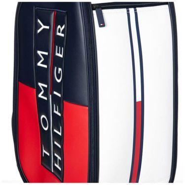 トミー ヒルフィガー ゴルフ カラーブロック ボックスロゴ キャディバッグ THMG1FC3 90 トリコロール 2021年モデル 詳細3