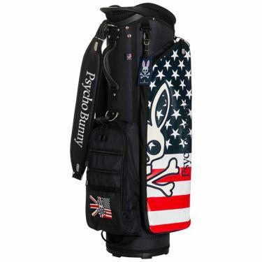 サイコバニー PsychoBunny A/A FLAG SPORT キャディバッグ PBMG1FC4 30 ネイビー 2021年モデル ネイビー(30)