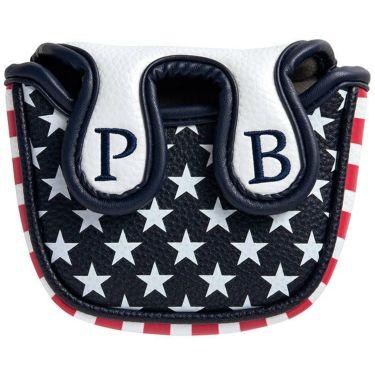サイコバニー PsychoBunny A/A FLAG パターカバー マレットタイプ PBMG1FH3 00 ホワイト 2021年モデル 詳細1