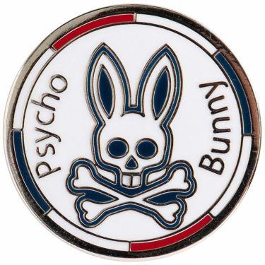 サイコバニー PsychoBunny バニー ボールマーカー PBMG1FM1 00 ホワイト 2021年モデル ホワイト(00)
