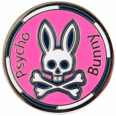 サイコバニー PsychoBunny バニー ボールマーカー PBMG1FM1 48 ピンク 2021年モデル ピンク(48)