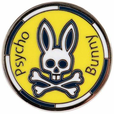 サイコバニー PsychoBunny バニー ボールマーカー PBMG1FM1 70 イエロー 2021年モデル イエロー(70)