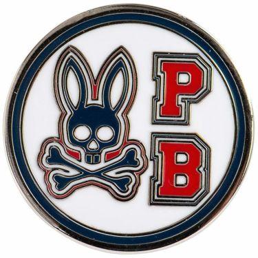 サイコバニー PsychoBunny ボールマーカー PBMG1FM2 00 ホワイト 2021年モデル ホワイト(00)