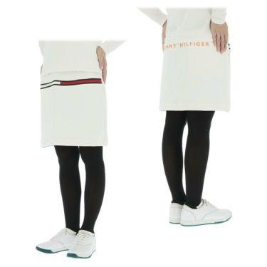 トミー ヒルフィガー ゴルフ レディース ロゴプリント ダンボールニット ストレッチ スカート THLA159 2021年モデル 詳細3