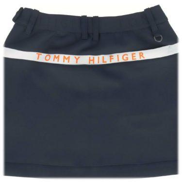 トミー ヒルフィガー ゴルフ レディース ロゴプリント ダンボールニット ストレッチ スカート THLA159 2021年モデル 詳細4