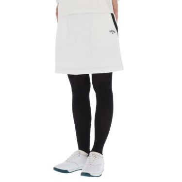 キャロウェイ Callaway レディース 総柄 フラワージャカード ストレッチ スカート C21228203 2021年モデル ホワイト(1030)
