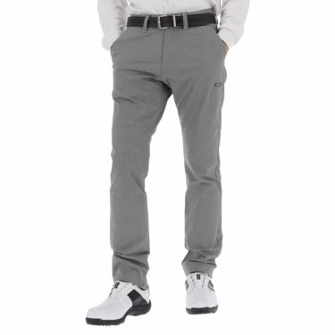 オークリー OAKLEY メンズ マイクロ千鳥格子柄 ストレート ロングパンツ FOA402865 2021年モデル [裾上げ対応1●] グラファイト(00N)