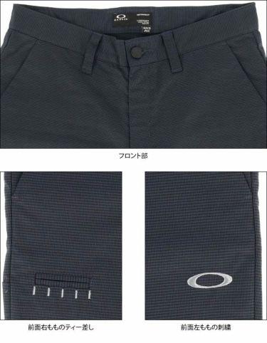 オークリー OAKLEY メンズ マイクロ千鳥格子柄 ストレート ロングパンツ FOA402865 2021年モデル [裾上げ対応1●] 詳細5