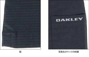 オークリー OAKLEY メンズ マイクロ千鳥格子柄 ストレート ロングパンツ FOA402865 2021年モデル [裾上げ対応1●] 詳細6