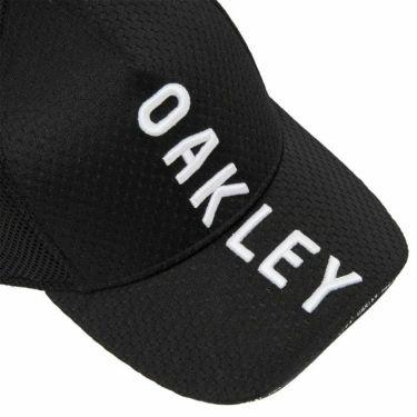 オークリー OAKLEY メンズ 立体刺繍ロゴ メッシュ キャップ FOS900690 02E ブラックアウト 2021年モデル 詳細1